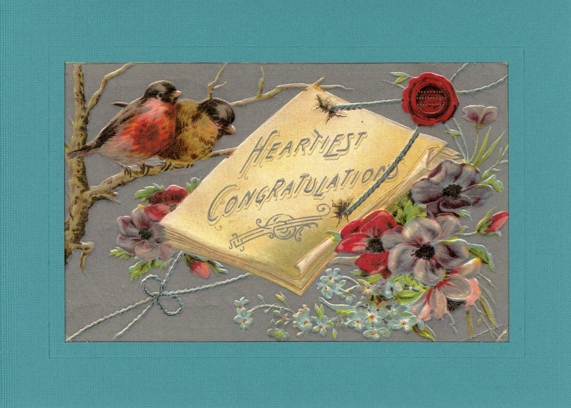 Heartiest Congratulations-Greetings from the Past-Plymouth Cards