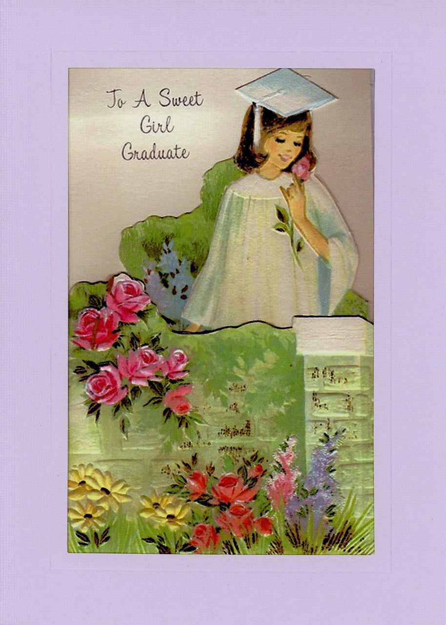 Graduate Sweet Girl - PLYMOUTH CARD COMPANY