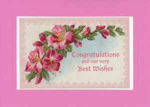 Congratulations and Our Very Best Wishes - PLYMOUTH CARD COMPANY