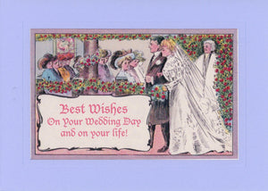 Best Wishes on Your Wedding Day and on Your Life - PLYMOUTH CARD COMPANY  - 1