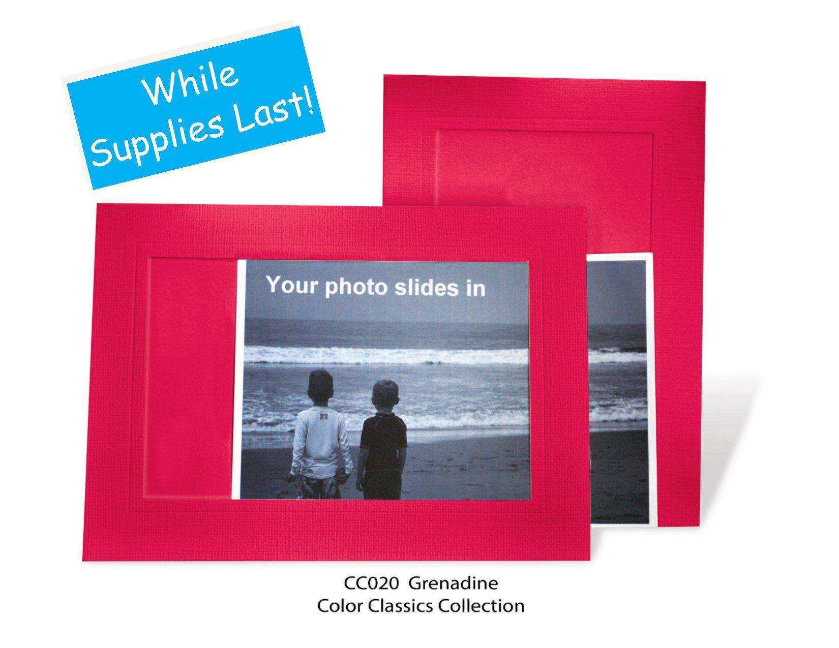 Grenadine #CC020-Photo note cards-Plymouth Cards