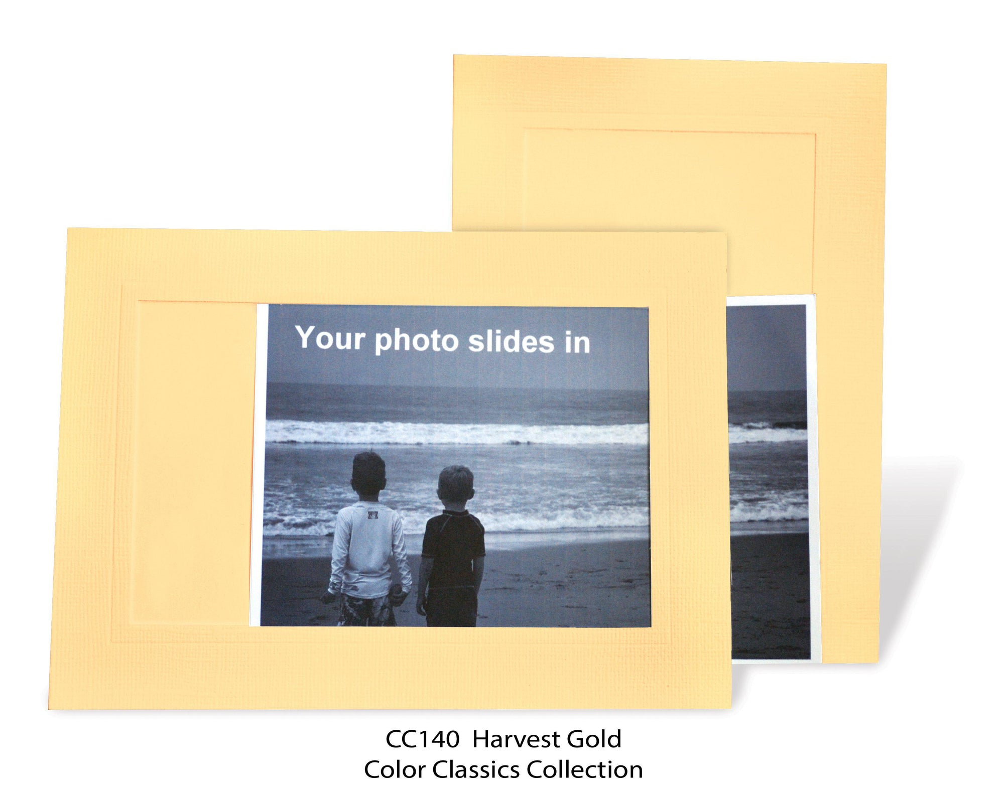 Harvest Gold #CC140-Photo note cards-Plymouth Cards