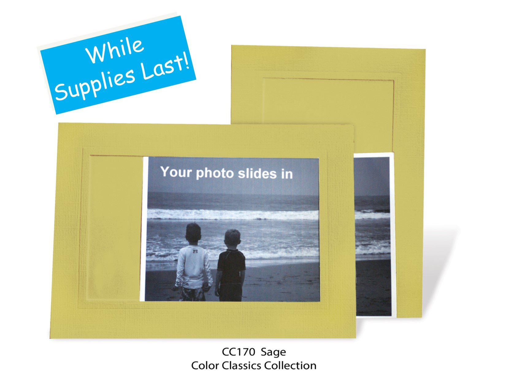 Sage #CC170-Photo note cards-Plymouth Cards