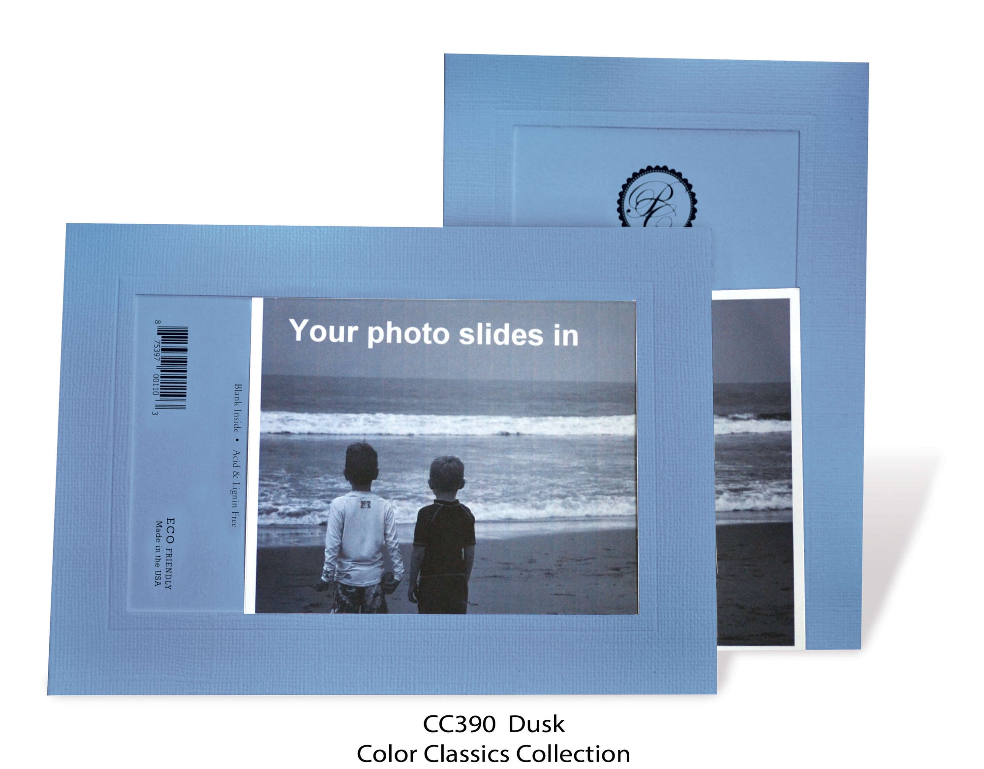 Dusk #CC390-Photo note cards-Plymouth Cards