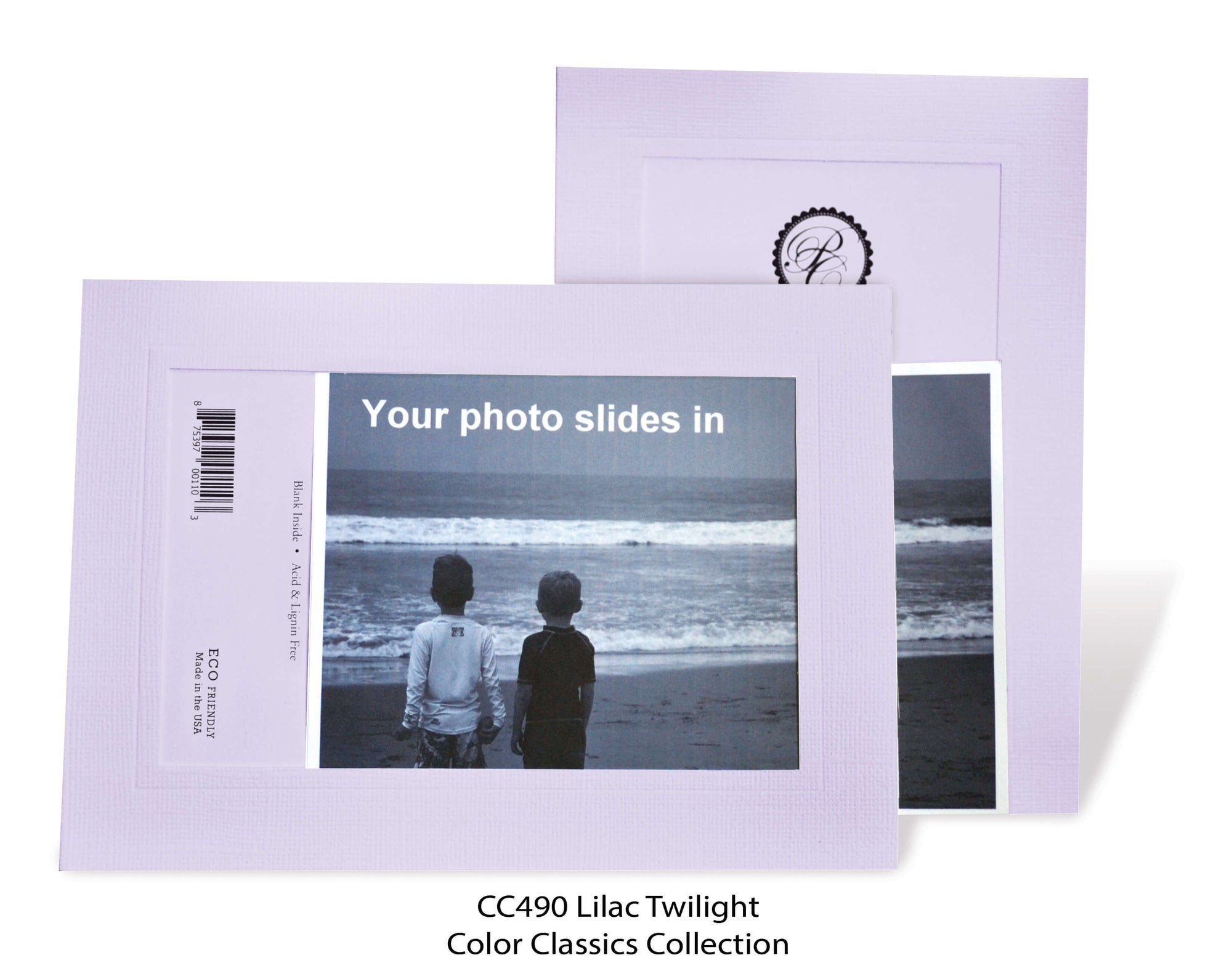 Lilac Twilight #CC490-Photo note cards-Plymouth Cards