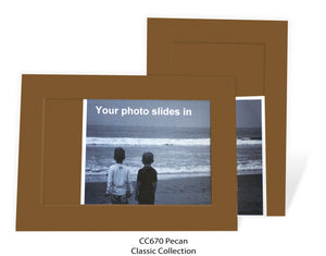 Pecan #CC670-Photo note cards-Plymouth Cards