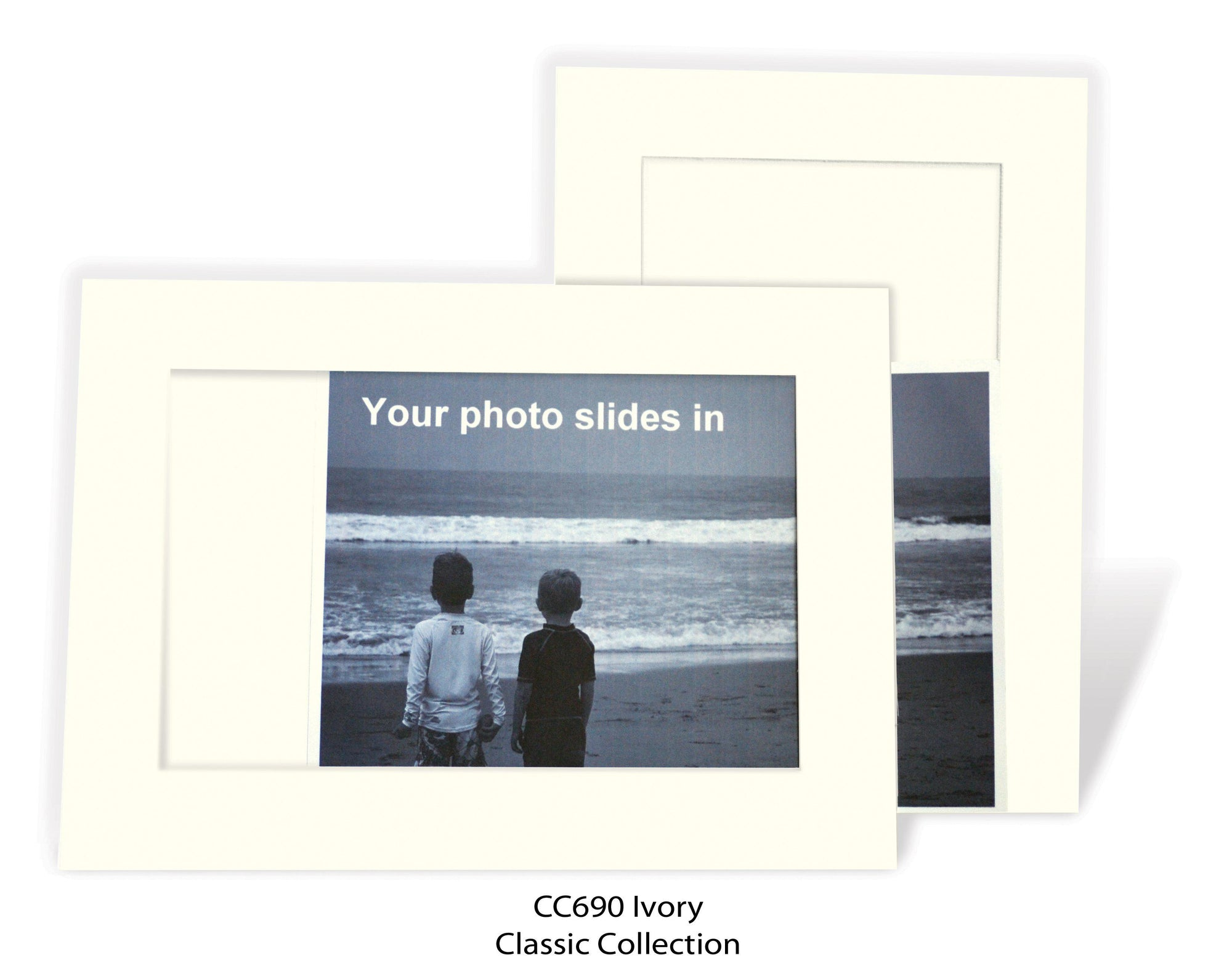 Ivory #CC690-Photo note cards-Plymouth Cards