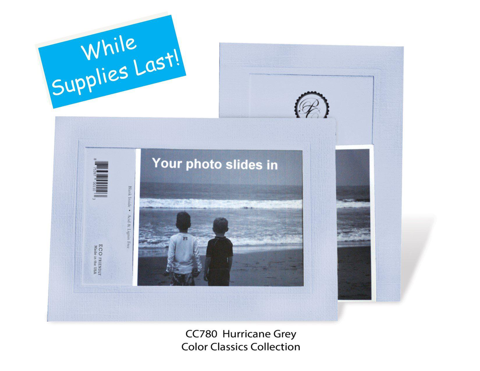 Hurricane Gray #CC780-Photo note cards-Plymouth Cards