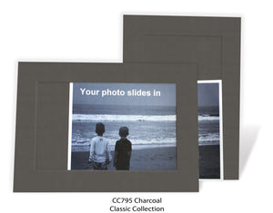 Charcoal #CC795-Photo note cards-Plymouth Cards