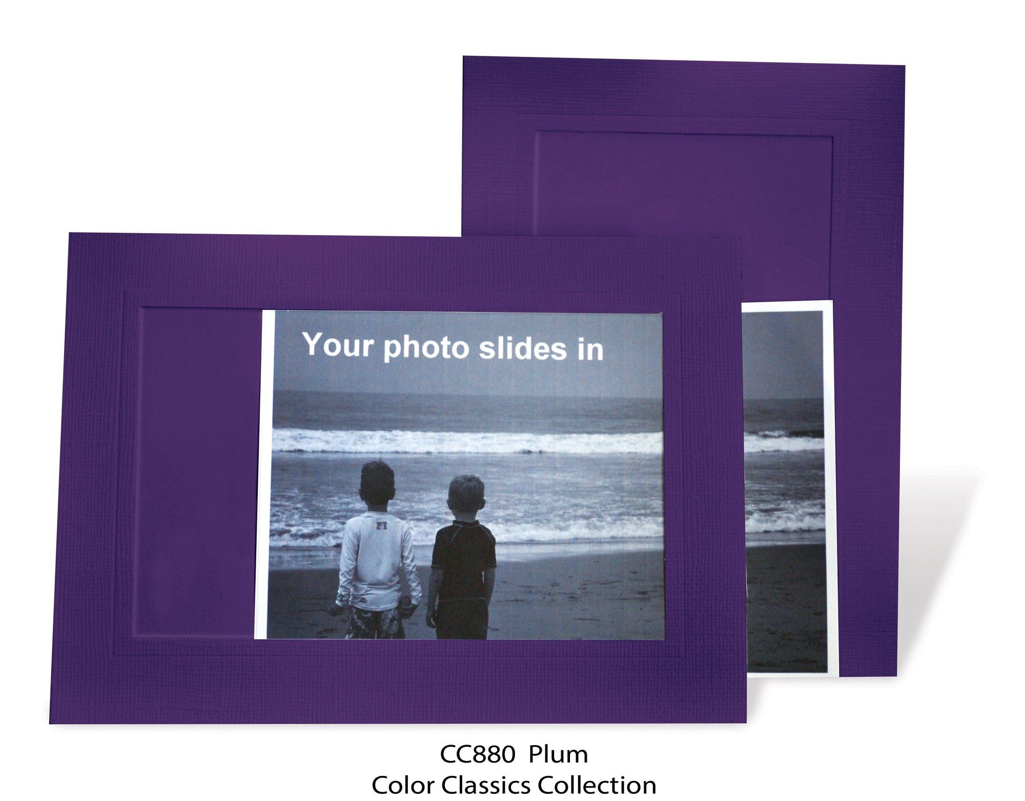 Plum #CC880-Photo note cards-Plymouth Cards
