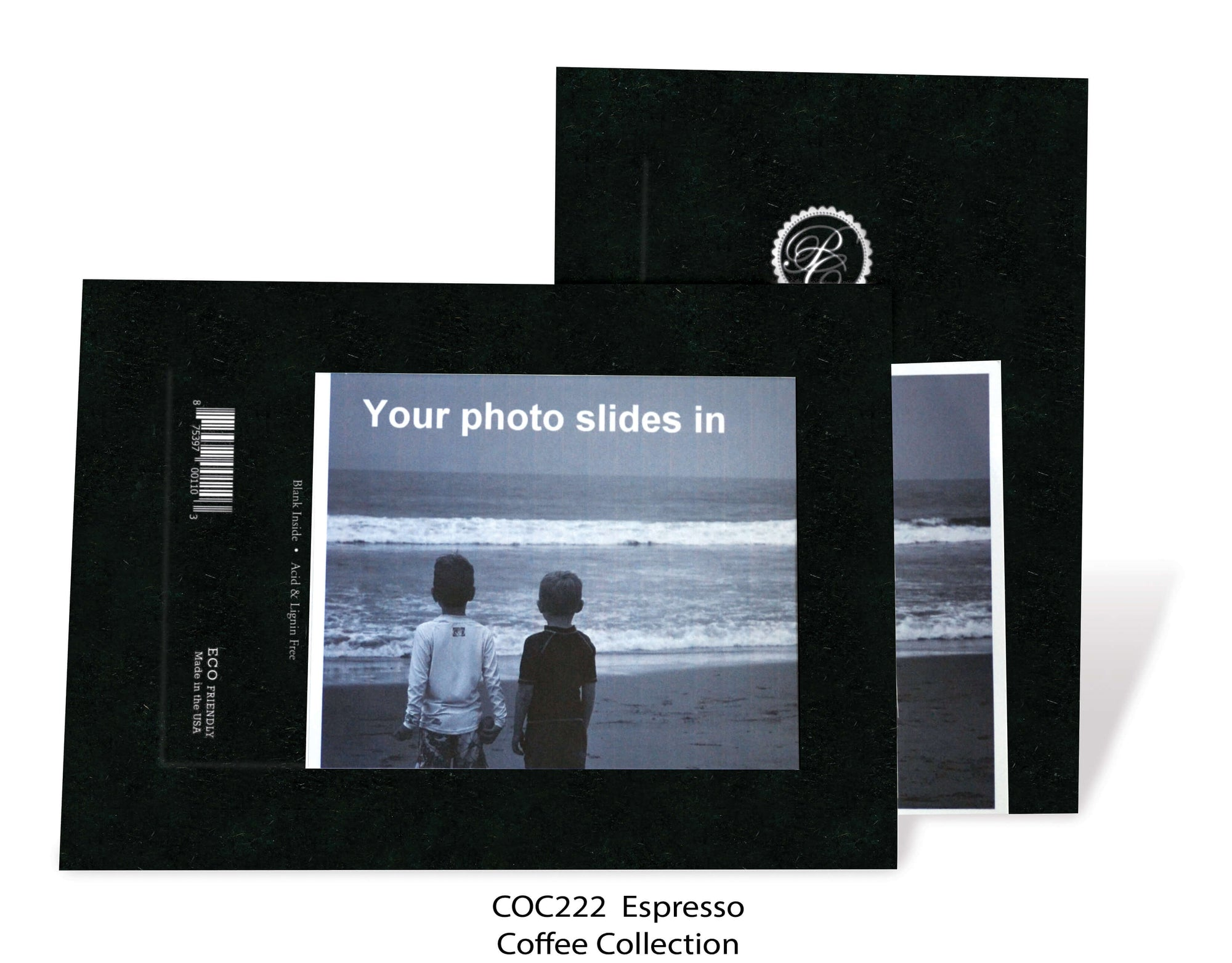 Espresso #COC222-Photo note cards-Plymouth Cards