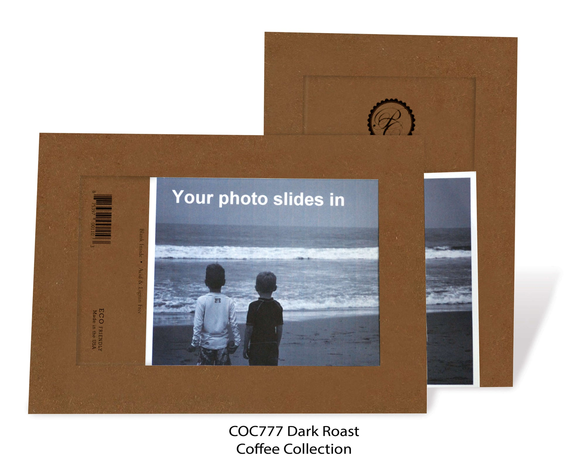 Dark Roast #COC777-Photo note cards-Plymouth Cards