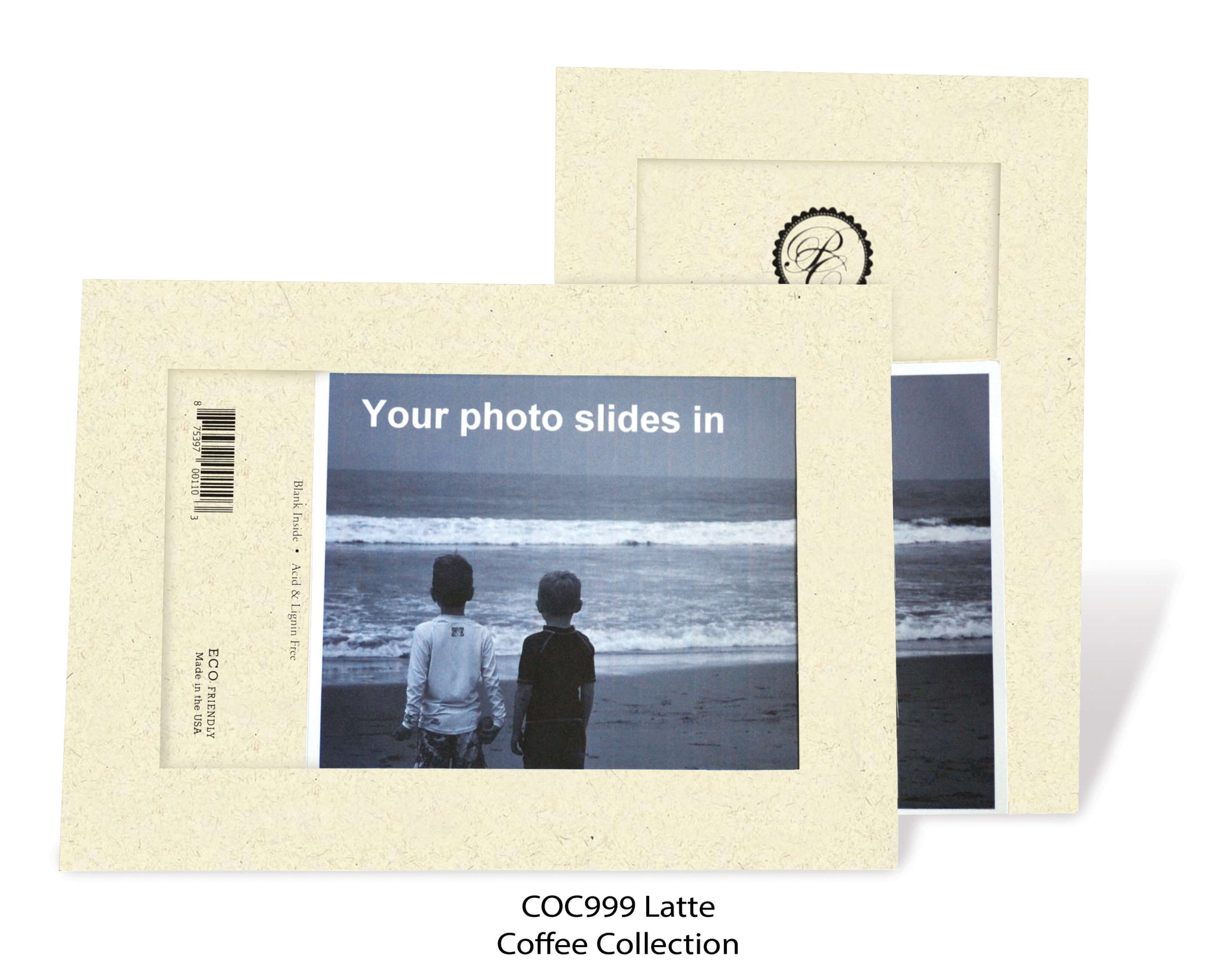 Latte #COC999-Photo note cards-Plymouth Cards