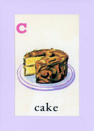 C is for Cake - PLYMOUTH CARD COMPANY  - 1