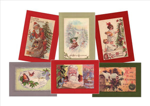"Christmas ""Greetings from the Past"" Sampler - PLYMOUTH CARD COMPANY  - 1"