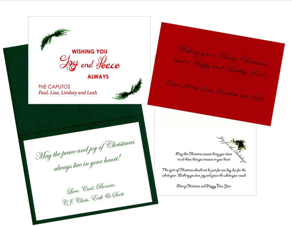 Custom Printing - Interior - PLYMOUTH CARD COMPANY  - 1
