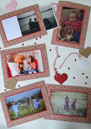 Rustic Hearts #EDPC-RH-Photo note cards-Plymouth Cards