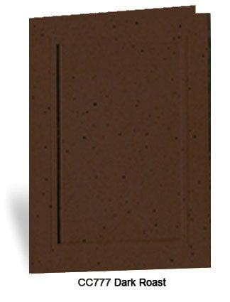 Dark Roast Photo Insert Note Cards - Coffee collection