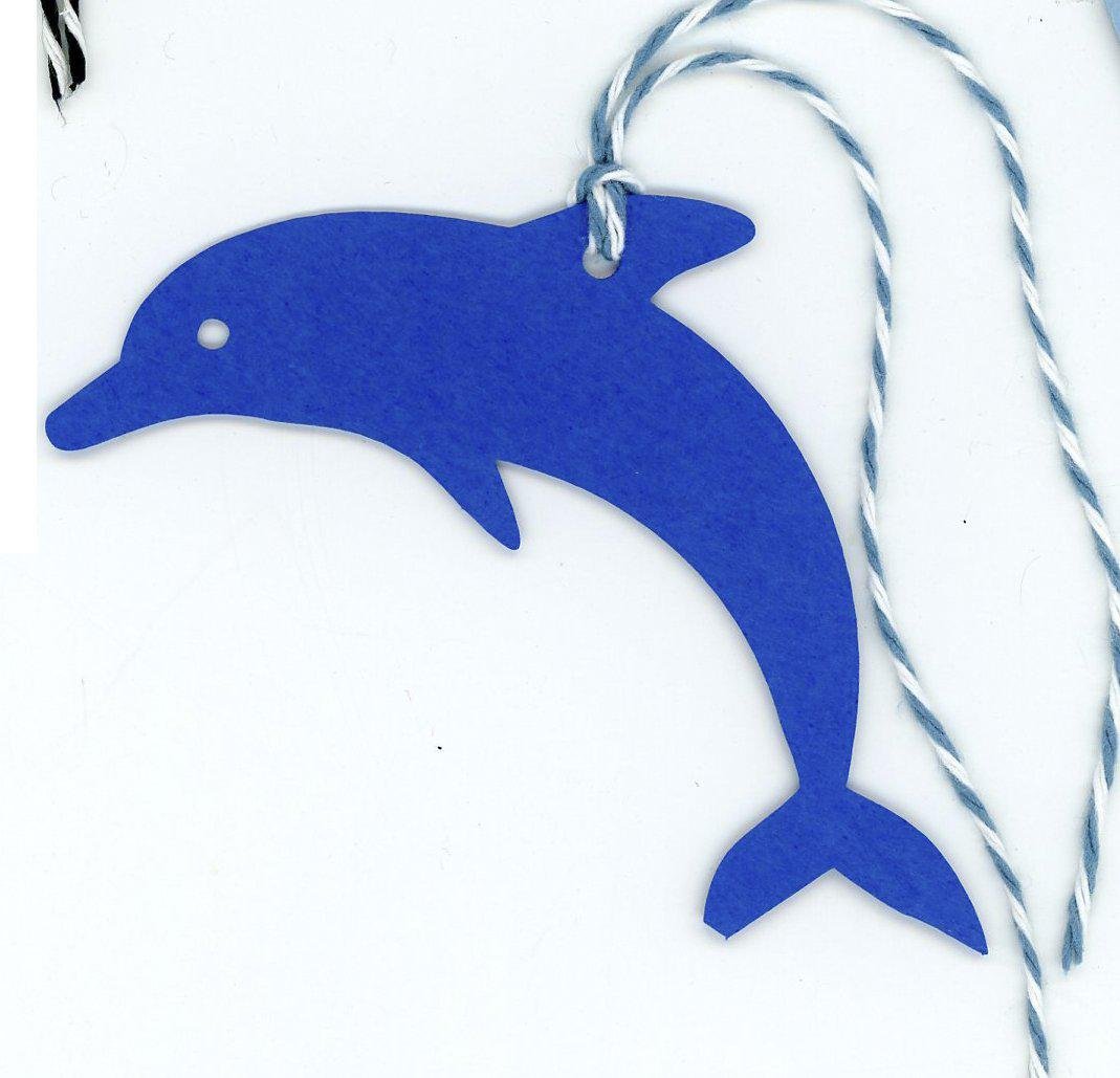 Dolphin gift tags
