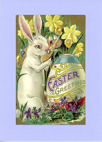 "Easter ""Greetings from the Past"" Sampler B - PLYMOUTH CARD COMPANY  - 5"