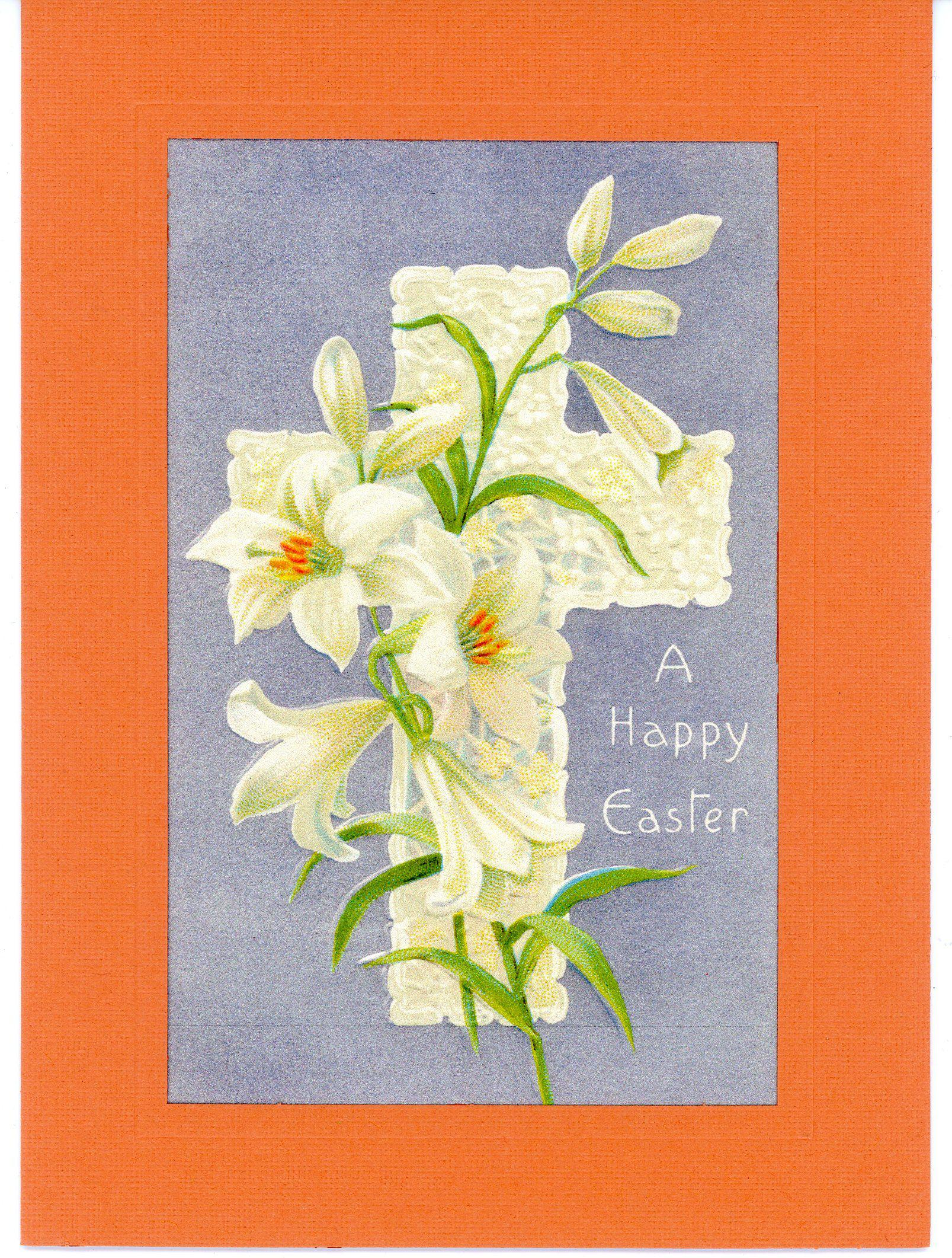 A Happy Easter-Greetings from the Past-Plymouth Cards
