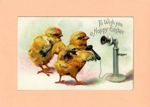 To Wish You a Happy Easter - PLYMOUTH CARD COMPANY  - 1