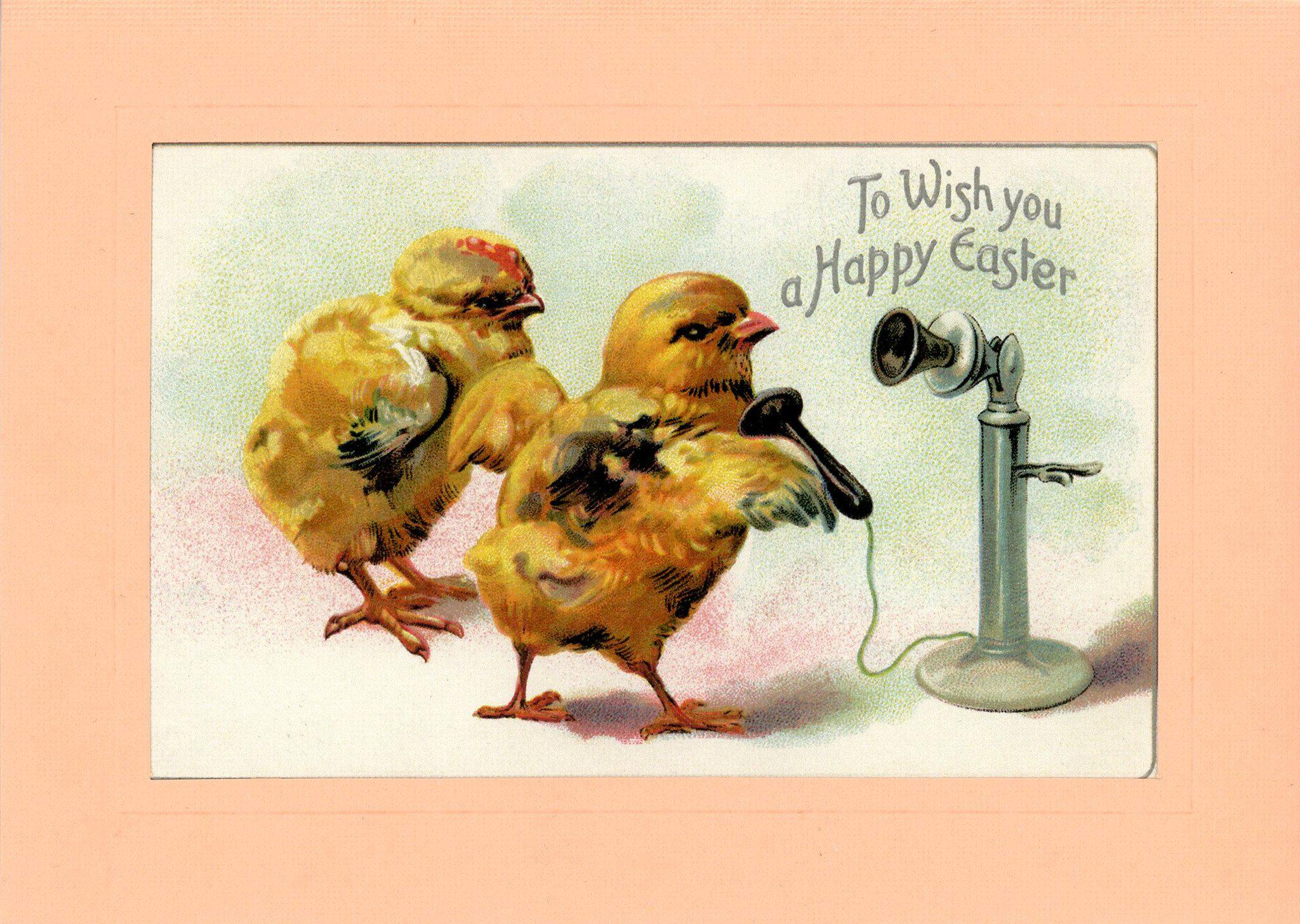 To Wish You a Happy Easter-Greetings from the Past-Plymouth Cards