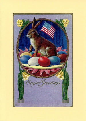 "Patriotic All Holidays ""Greetings from the Past"" Sampler - PLYMOUTH CARD COMPANY  - 4"