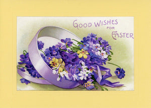 "Easter ""Greetings from the Past"" Sampler B - PLYMOUTH CARD COMPANY  - 4"