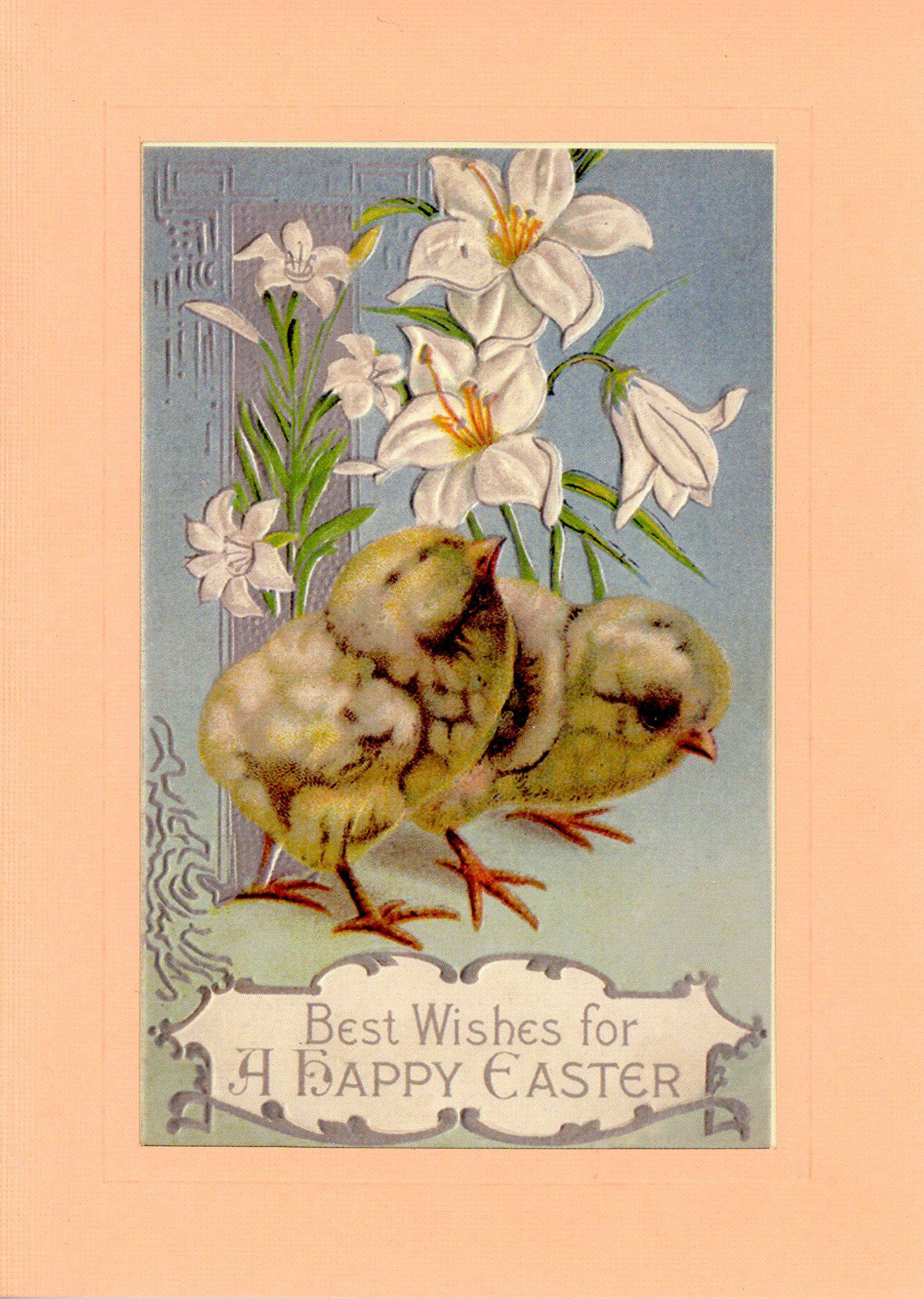 Best Happy Easter-Greetings from the Past-Plymouth Cards
