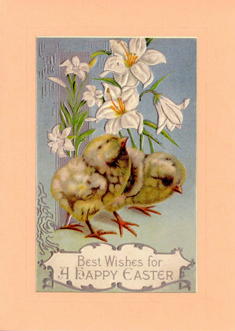 "Easter ""Greetings from the Past"" Sampler A - PLYMOUTH CARD COMPANY  - 7"