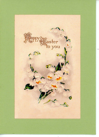 "Easter ""Greetings from the Past"" Sampler A - PLYMOUTH CARD COMPANY  - 6"