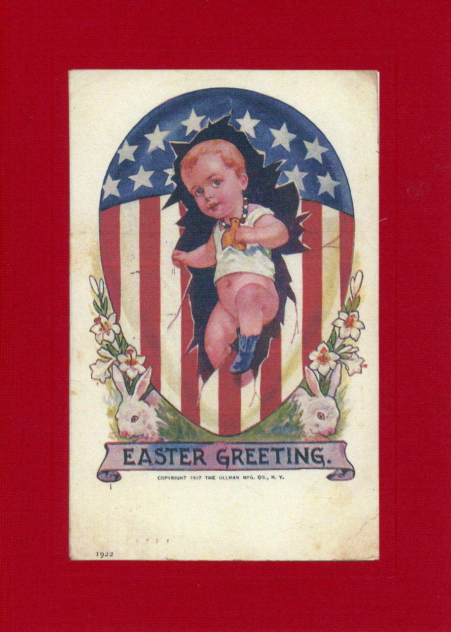 Patriotic Easter Baby - PLYMOUTH CARD COMPANY