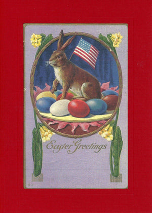 Patriotic Easter Bunny - PLYMOUTH CARD COMPANY  - 2
