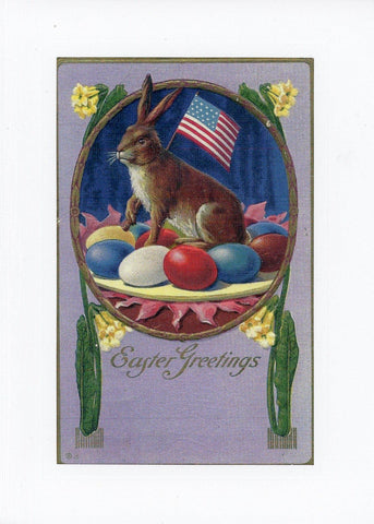 Patriotic Easter Bunny - PLYMOUTH CARD COMPANY  - 3