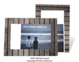 Barnwood #EDPC-BW-Photo note cards-Plymouth Cards