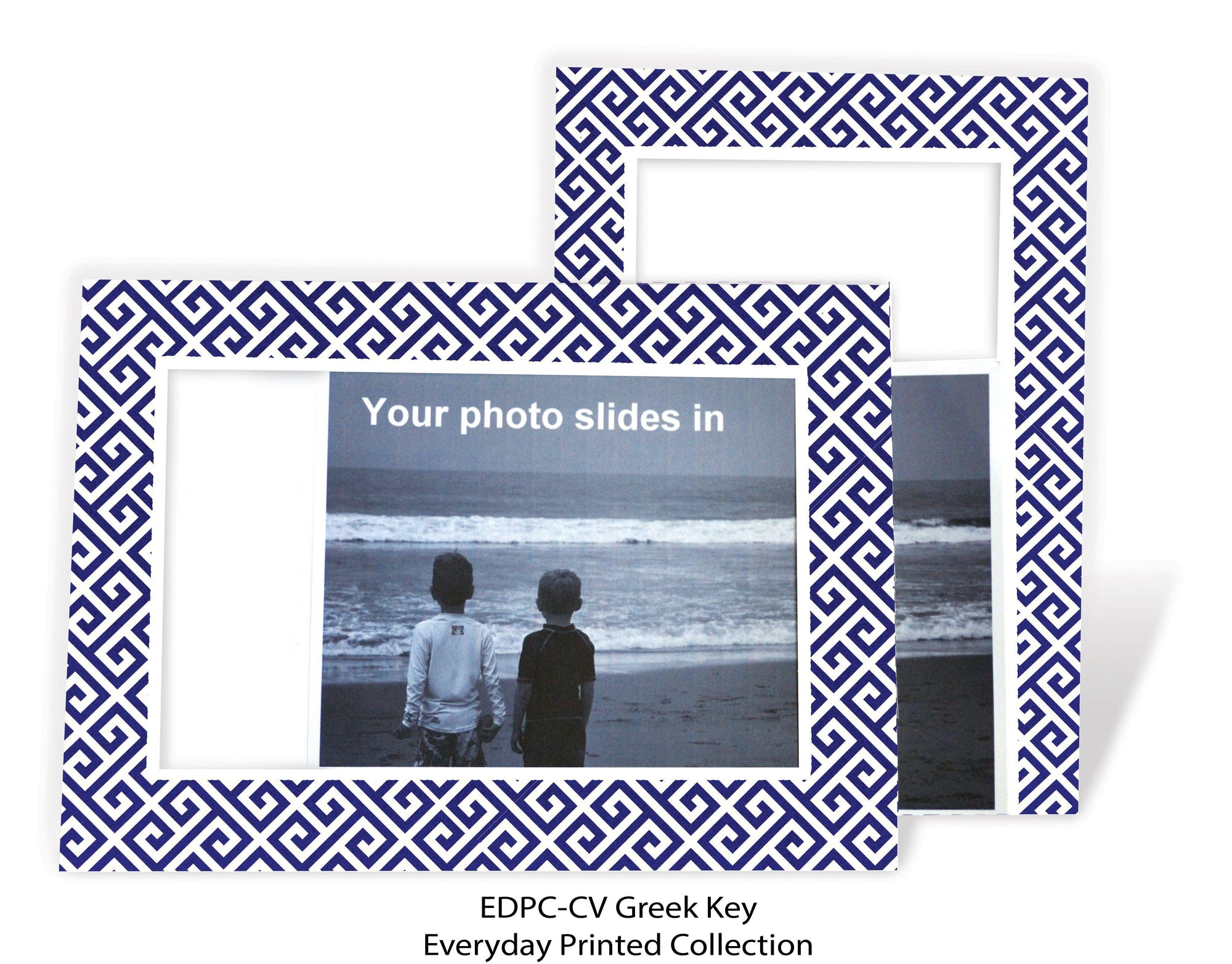Greek Key-Photo note cards-Plymouth Cards