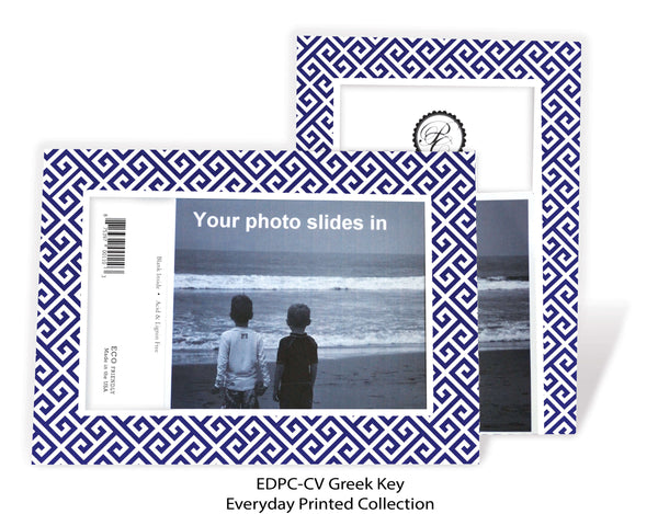 Photo insert note cards all collections plymouth cards greek key photo insert note cards everyday printed collection color edpc gk m4hsunfo