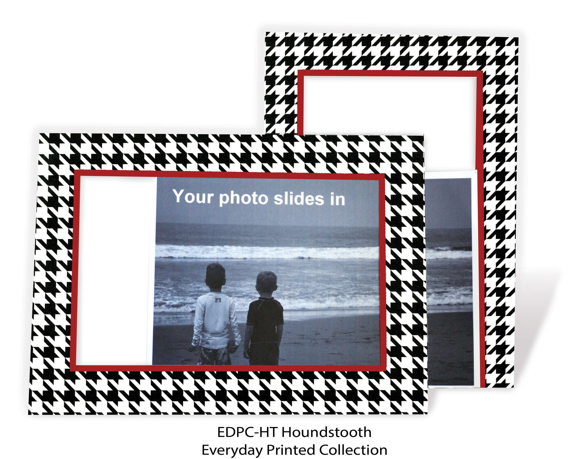 Houndstooth - traditional-Photo note cards-Plymouth Cards