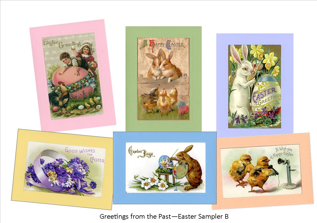 "Easter ""Greetings from the Past"" Sampler B"