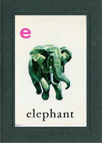 E is for Elephant - PLYMOUTH CARD COMPANY  - 2