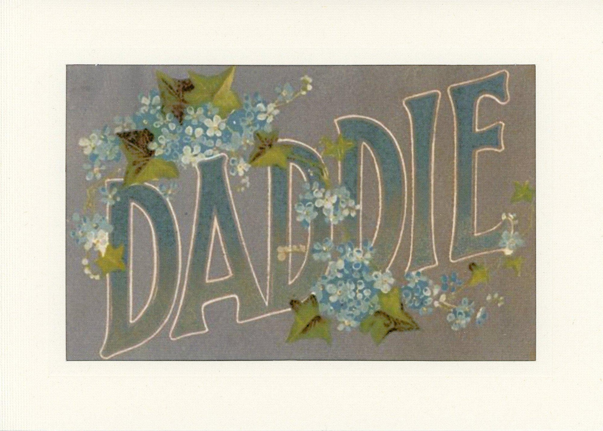 Daddie-Greetings from the Past-Plymouth Cards
