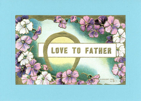 Love to Father - PLYMOUTH CARD COMPANY  - 2