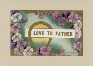 Love to Father - PLYMOUTH CARD COMPANY  - 1