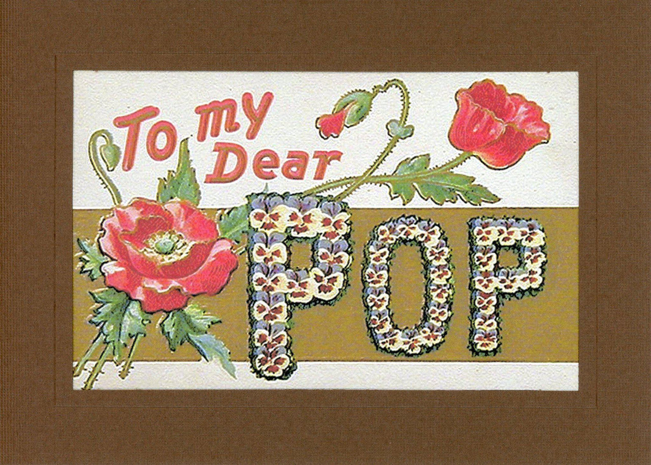 To My Dear Pop - PLYMOUTH CARD COMPANY  - 1