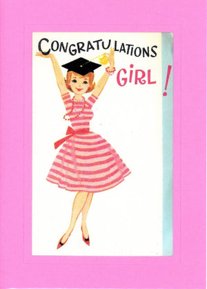 Congratulations Girl! - PLYMOUTH CARD COMPANY
