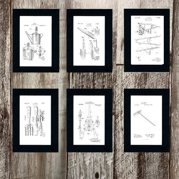 Garden Patents 6 card set-Greeting Card-Plymouth Cards