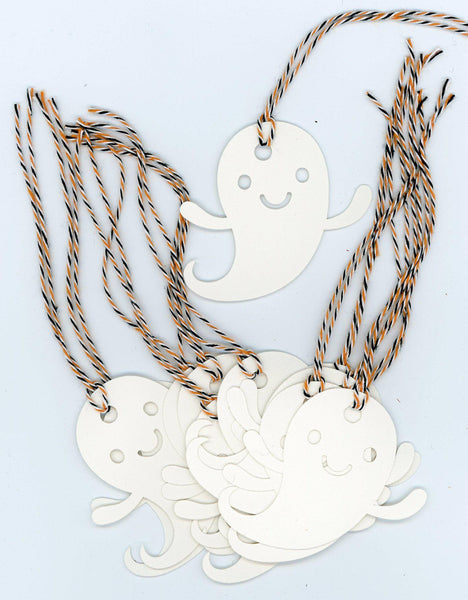 Ghost Halloween gift tags - PLYMOUTH CARD COMPANY  - 1