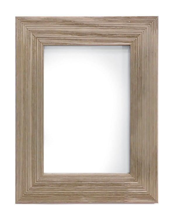 Gray Farmhouse Picture Frame-Plymouth Cards