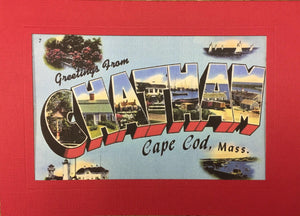 Greetings from Chatham Postcard